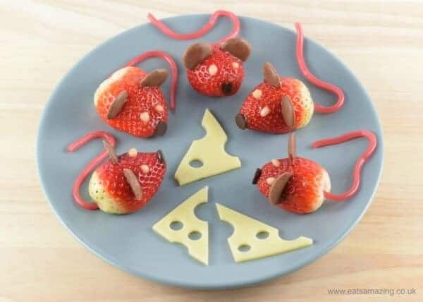 Strawberry Chocolate Mice