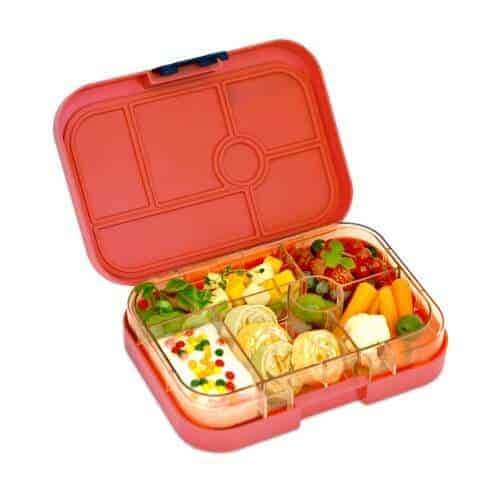 yumbox classic v2 rocket red eats amazing. Black Bedroom Furniture Sets. Home Design Ideas